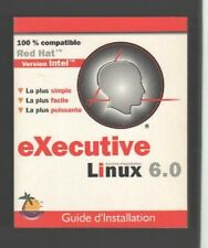 █ Lot 2 Livres Executive LINUX 6.0 : Guide d'Installation + Bien Débuter █