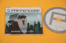 CD SINGOLO (NO LP ) PAFFENDORF WHERE ARE YOU