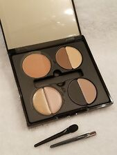 New Sheer Cover Face Palette Sophisticate - Eye Shadow/Lip Gloss/Blush, Mirror.