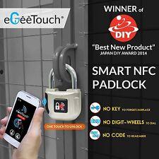 NFC Smart Candado, egeetouch Android Inteligente Cerradura Electrónica (Perfecto Regalo De Navidad)