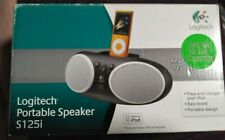 Logitech S125i Portable Speaker Dock For iPod 1,2 And iPhone 1,2,3,4 Opened Not