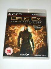 "Deus Ex Human Revolution for Playstation 3  PS3  ""FREE UK P&P"""