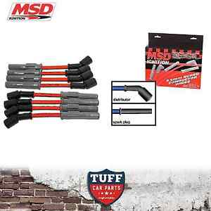 VT VX VY VZ Holden Commodore LS1 V8 MSD 8.5mm Performance Ignition Leads