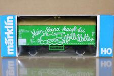 Marklin Märklin 4415 k8004 DB VERDE Mein Papa kauft BEI Willi Walter Kühlwagen