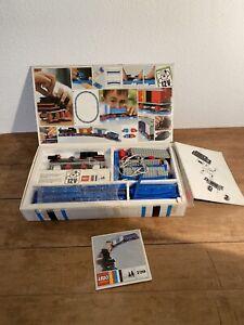 Lego System Train Électrique 720 Boite Jouet Construction Vintage
