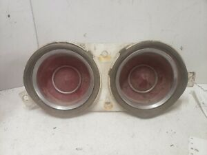 1970 chevrolet camaro lh tail light OEM