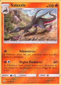 Pokemon Salazzle 26/156 Rara Reverse Holo ★ LINGUA ITALIANO