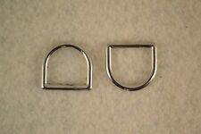 """Dee Ring - 5/8"""" - Nickel Plated - Pack of 36 (F327)"""