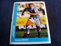Figurina Ds Sticker France 98 n°340 HERNAN CRESPO ARGENTINA World Cup