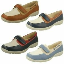 Ladies Easy B Flat Loafer Style Shoes 'Elizabeth'