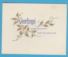 OLDHAM ATHLETIC FC 1952 CHRISTMAS CARD RARE UNUSED VERY GOOD CONDITION