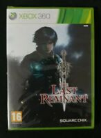 NEW - The Last Remnant - Xbox 360 - PAL Europeon Version - Factory Sealed