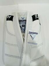 Tatami Elements 2.0 Mens Ultralite Ligthweight Jiu Jitsu Gi Jiu-Jitsu BJJ White