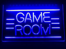 Game Room Neon Led light Sign gamer bar decor size 12 x 8 in