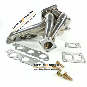 Turbo Exhaust Manifold Header For Lexus IS300 GS300 Toyota Supra 2JZGE 2JZ-GE
