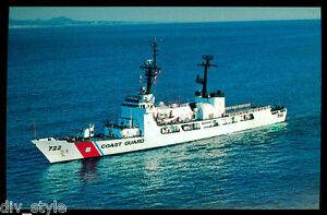 USCGC Morgenthau WHEC-722 postcard  US Coast Guard High Endurance Cutter
