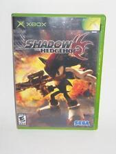 Xbox Shadow The Hedgehog Sonic Sega Complete Tested -0517AJ