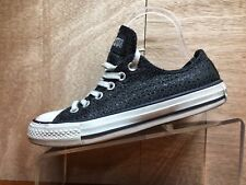 Converse all star women size 7 Diamond Black Canvas