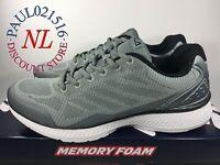 USED FILA Men's Startup Memory Foam Sneaker/Running Shoes ~ Gray ~ Pick Size !