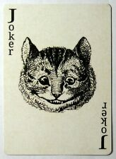 Alice in Wonderland Cheshire Cat Single Swap Playing Card - 1 card - Joker