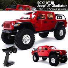 Axial Axi03006T2 1/10 Scx10 Iii Jeep Jt Gladiator Rock Crawler w/Portals Rtr Red