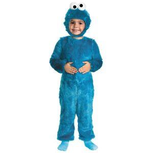 Cookie Monster Costume Toddler Baby Sesame Street Halloween Fancy Dress