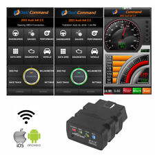 ELM327 OBD2 OBDII Bluetooth WIFI For Android Torque Car Fault Diagnostic Scanner