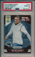 2014 PANINI PRIZM WAYNE ROONEY WORLD CUP #142 PSA 10 GEM MINT POP 3! LOW POP!