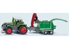 Siku Diecast Vehicle Model - 1675 Tractor With Wood Chipper