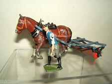 VINTAGE BRITAINS MODEL  No.9F                      HORSE DRAWN ROLLER & MAN