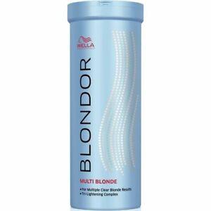 Wella Blondor Bleach Dust Free Lightening Powder 400g blond hair