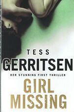 Girl Missing TESS GERRITSEN (Large Paperback, 2009) FREE POST Tracked - Like New
