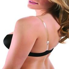 Clear Silicone Invisible Adjustable Bra Shoulder Strap (1 Pair)