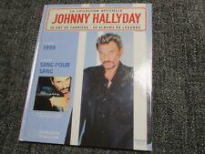 "CD-LIVRE ""JOHNNY HALLYDAY - SANG POUR SANG (1999)"""