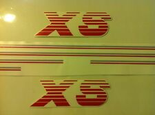 Kit complet stickers autocollants Peugeot 205 XS gris rouge - grey red