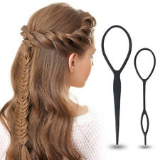 2pcs Hair Braid Accessories Ponytail Styling Maker Clip French Braid Tool