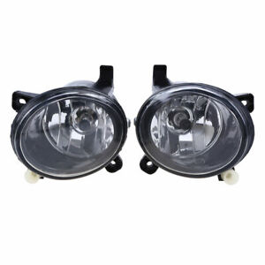 Front Fog Light Lamp With Bulbs For Audi A4 A6/S6 Q5 2008-2016 14 15 Avant Sedan