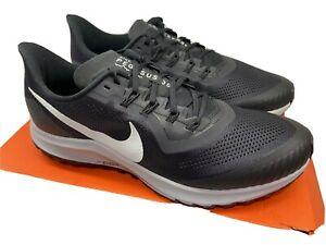 New Nike Air Zoom Pegasus 36 Trail Running Shoes AR5677 002 Black Sz 13