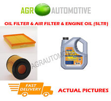 DIESEL OIL AIR FILTER KIT + LL 5W30 OIL FOR VAUXHALL ASTRA 1.7 75 BHP 2000-05
