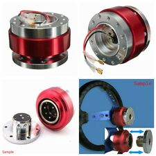 UNIVERSAL SHORT QUICK RELEASE KIT FOR 6-HOLE STEERING WHEEL HUB BOSS ADAPTER