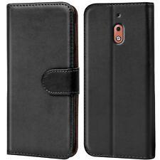 Handy Tasche für Nokia 2.1 Flip Case Schutz Hülle Cover Wallet Etui Bookcase