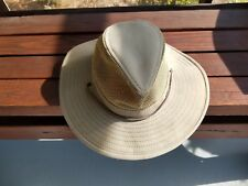 Bass Pro Shops Safari Bucket Hat Hunting Fishing Vented Top Olive Size Medium