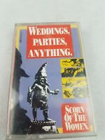 WEDDINGS PARTIES ANYTHING SCORN OF THE WOMEN CASSETTE TAPE AUSTRALIA
