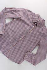 Steven Alan Womens Size Medium M Button Down Long Sleeve Shirt Reverse Seam