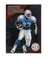 2013 TOTALLY CERTIFIED Thanksgiving Red EDDIE GEORGE  (Titans)