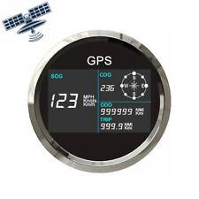 85mm ATV Kfz Boot GPS Tachometer Kilometerzähler Indikator 0-299 Km/h Knot NEW