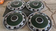 1970 1971 ford thunderbird wheel covers green