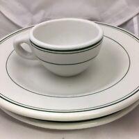 Vintage Ravenswood WV Restaurant Ware Trenle Blake China Co Plate Mug & Bowl