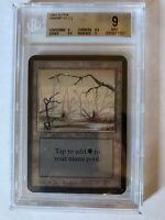 BGS 9 Alpha Swamp V2 MTG Magic the Gathering 1993 Old School Graded MINT