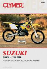 CLYMER Repair Manual for Suzuki RM250 1996-2002